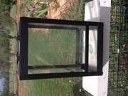 Reptile glass terrarium