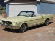 1966 ford FORD  MUSTANG CONVERTIBLE 1966