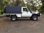 Toyota 1998 Toyota 75 Series Landcruiser ute Supercharged 4.5