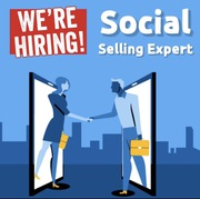 We are Hiring Globally Social Selling Expert for job